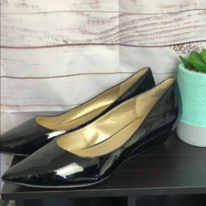 Bandolino Black wedges size 10 1/2